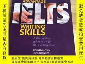 二手書博民逛書店IELTS罕見Advantage - Writing Skill