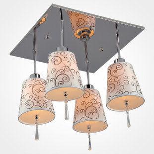 吸頂燈現代簡約水晶客廳家居