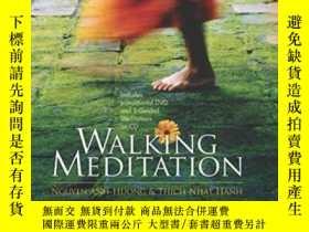 二手書博民逛書店Walking罕見Meditation W dvd & Cd-romY364682 Thich Nhat Ha