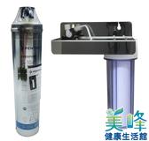 美國EVERPURE賓特爾愛惠普S104二道式白鐵吊片淨水器.過濾器QL2濾頭蓋,3320