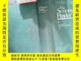 二手書博民逛書店the罕見synonym finderY167411
