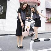 【熊貓】2018春親子裝冬新款潮夏裝母女裝連身裙