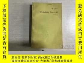 二手書博民逛書店Probability罕見Theory概率論 第2卷 第4版(英