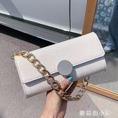 法國小眾包包女2020流行新款潮韓版質感手提鋉條包單肩腋下包『蘑菇街小屋』
