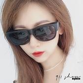 Ardor.MIT台灣製。摺疊方框偏光太陽眼鏡方便攜帶套鏡附拉鍊鏡盒【f5076】911 SHOP