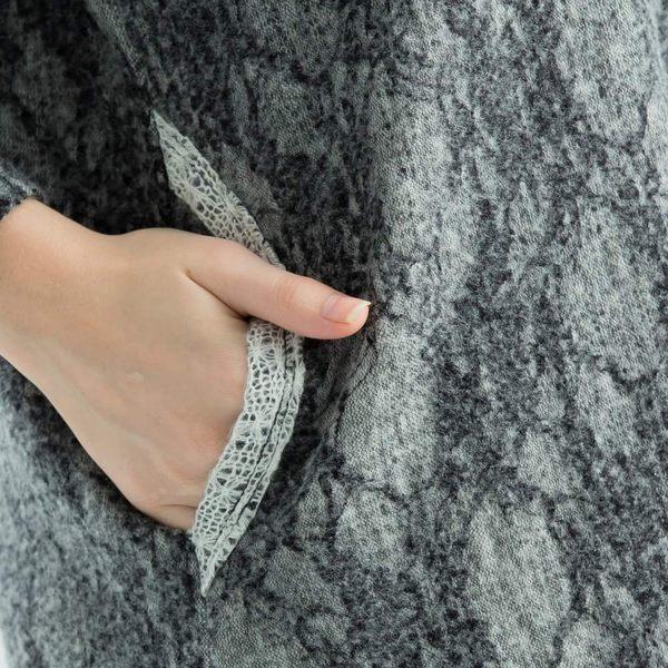 【衣大樂事】MIT荷葉網蕾絲長上衣