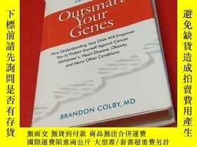 二手書博民逛書店Outsmart罕見Your Genes 基因Y195426 B