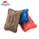NH充氣枕頭戶外露營便攜旅行枕頭火車睡覺麂皮絨舒適飛機睡枕『新佰數位屋』