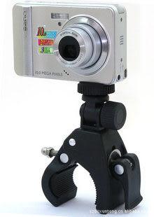 【Jenny 3c】單車支架 機車車架 腳架 自行車 相機支架 雲台 行車支架 DV GPS 自行車支架