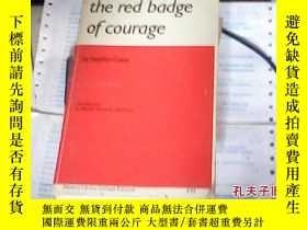 二手書博民逛書店the罕見red badge of courage`Y27345
