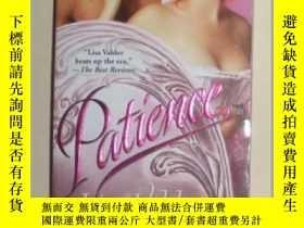 二手書博民逛書店【英語】英語原版小說罕見《 Patience 》 Lisa Va