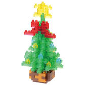 《 Nano Block 迷你積木 》NBC-155 聖誕樹 ╭★ JOYBUS玩具百貨