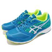 【六折特賣】Asics 慢跑鞋 Lyteracer TS 6 Wide 藍 銀 寬楦 六代 運動鞋 舒適緩震 男鞋【PUMP306】TJL435-4393