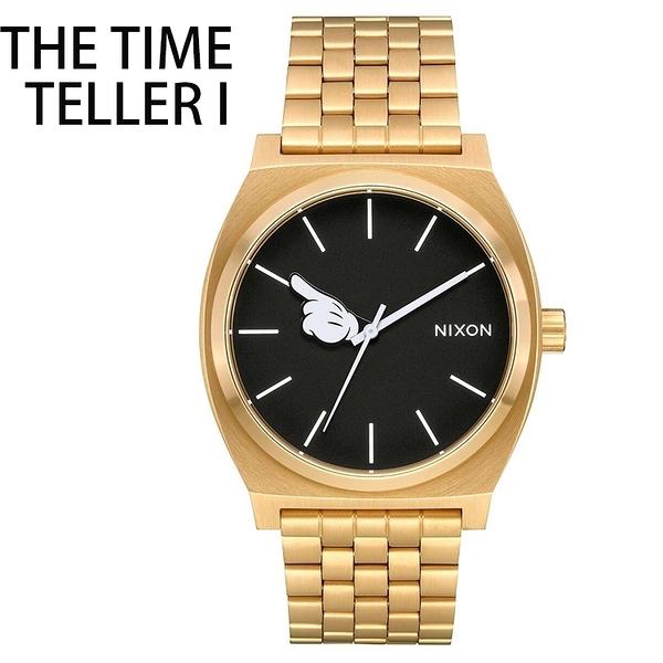 【萬年鐘錶】NIXON 米老鼠 限量款 百搭入門錶款 THE TIME TELLER I 不鏽鋼  防水 A045-3097