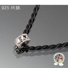 六字真言(925銀) 項鍊 +平安小佛卡【十方佛教文物】