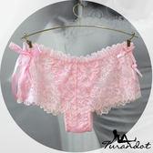 。。◆Turandot-杜蘭朵 ◆ 情定巴黎 閃耀銀光 唯美蕾絲 三角小褲[ 03990014] 2色 Free Size