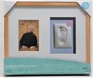 Pearhead Babyprints Wall Frame掛牆印模相框-白、原木、核桃三色(H3PH114)