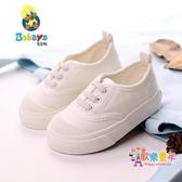 童鞋 兒童帆布鞋男新款懶人童鞋布鞋女童小白鞋潮寶寶球鞋 4色