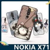 NOKIA X71 彩繪Q萌保護套 軟殼 卡通塗鴉 超薄防指紋 全包款 矽膠套 手機套 手機殼 諾基亞