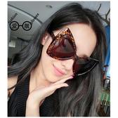 大框蝴蝶結造型太陽眼鏡男女反光太陽眼鏡 ☸mousika