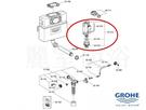 【麗室衛浴】德國原裝 GROHE 埋壁水箱專用 氣壓式排水器 42315/42320