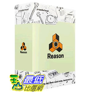 [104美國直購] Propellerhead Reason 7 (Music Recording & Production Studio) _Reason 7