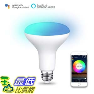 [7美國直購] 智能燈 Magic Hue BR30 LED Flood Light Bulb Tunable White Color Changing Smart Flood