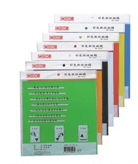 《享亮商城》MF-3030 黑色 彩色軟性磁鐵  COX
