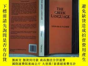 二手書博民逛書店The罕見Greek Dialects (bcp Advance