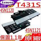 LENOVO T431S,T431 電池(原廠)-IBM 聯想 電池 45N1120,45N1121, 48WH  內置式