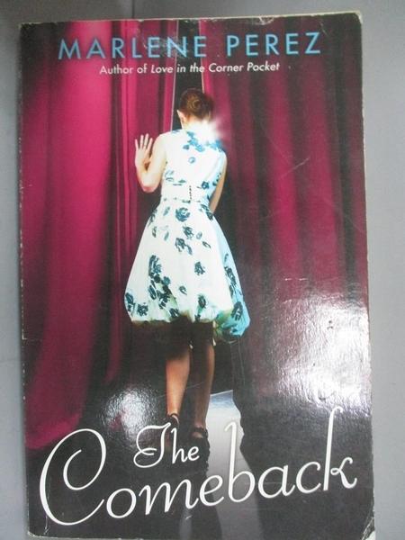 【書寶二手書T7/原文小說_GHX】The Comeback_Perez, Marlene
