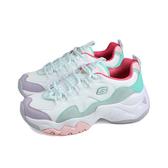 SKECHERS DLites 3.0 運動鞋 女鞋 白/粉紫/粉綠 厚底 149105WMNT no207