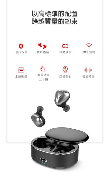 台灣保固⭐MD2無線藍牙耳機⭐運動耳塞式TWS藍芽耳機對耳雙耳通話跑步騎車開車耳機交換禮物