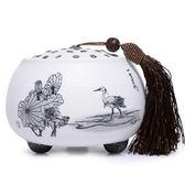 茶葉罐-陶瓷精美典雅密封保存泡茶品茗普洱茶罐2款69ab45[時尚巴黎]
