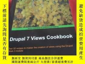 二手書博民逛書店Drupal罕見7 Views CookbookY11161 外