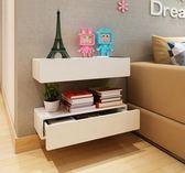 創意掛墻隔板客廳墻上置物擱板臥室壁櫃WZ436 【衣好月圓】TW