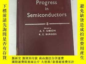 二手書博民逛書店progress罕見in semiconductors 8(H4