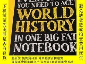 二手書博民逛書店罕見Everything You Need to Ace World History in One Big Fat