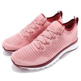 Reebok 慢跑鞋 Print Smooth 2.0 ULTK 二代 粉紅 紅 編織 輕量舒適 路跑專門 運動鞋 女鞋【PUMP306】 CN1743