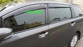 【一吉】12-15年仕 WISH 鍍鉻飾條版  晴雨窗 台灣製造(非Mazda,altis,crv,rav4,fit.mazda.escpae