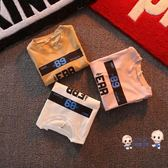 短袖 兒童潮流字母夏季男女寶寶短袖T恤兒童夏裝兒童上衣小孩外出衣服 3色