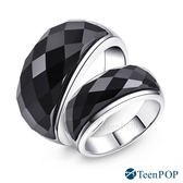 情侶對戒 ATeenPOP 珠寶白鋼戒指 神秘魅力 送刻字*單個價格*