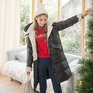 羽絨棉的特性輕薄手感細膩、柔軟且保暖性高 連帽設計抵擋寒風溫暖加倍。