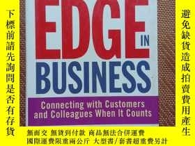 二手書博民逛書店THE罕見RELATIONSHIP EDGE IN BUSINESSY368127 Jerry Acuff 著