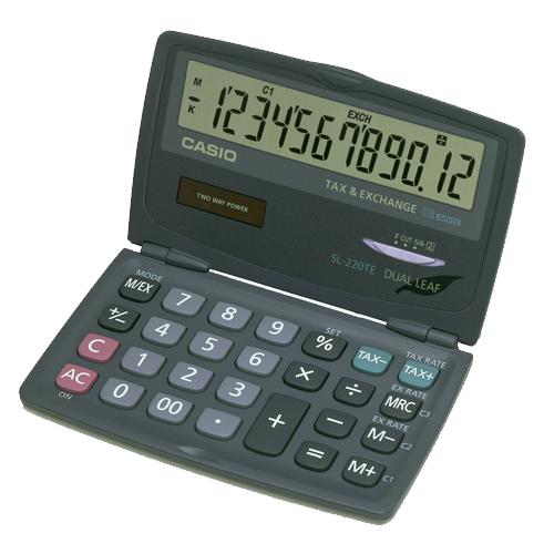 CASIO 計算機專賣店 SL-220TE  特殊功能型 計算機 特務助理必備款