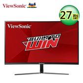 【ViewSonic 優派】27型144Hz 曲面顯示器(VX2758-C-mh)【全品牌送外出野餐杯】