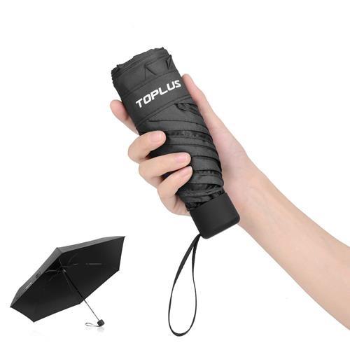 【日本代購-現貨】Toplus (Adoric) 折疊傘 超輕 183g 遮擋UV率 99%遮熱 晴雨兩用 黑