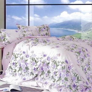 【Victoria】100%純天絲雙人兩用被床包四件組(臻愛)5*6.2