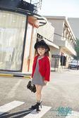 聖誕享好禮 2018春季韓版女童花朵網紗刺繡無袖連身裙純色披風外套童套裝