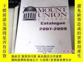 二手書博民逛書店MOUNT罕見UNION Catalogue ` 2007-20